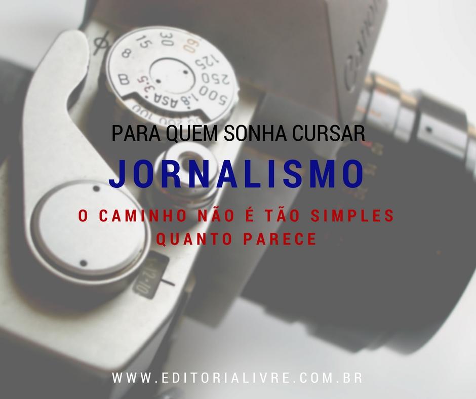Para quem sonha em ser jornalista #PEDAblogBr