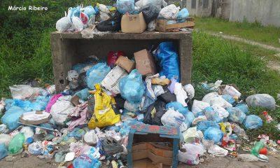 Bairros: Lixo é recolhido após duas semanas