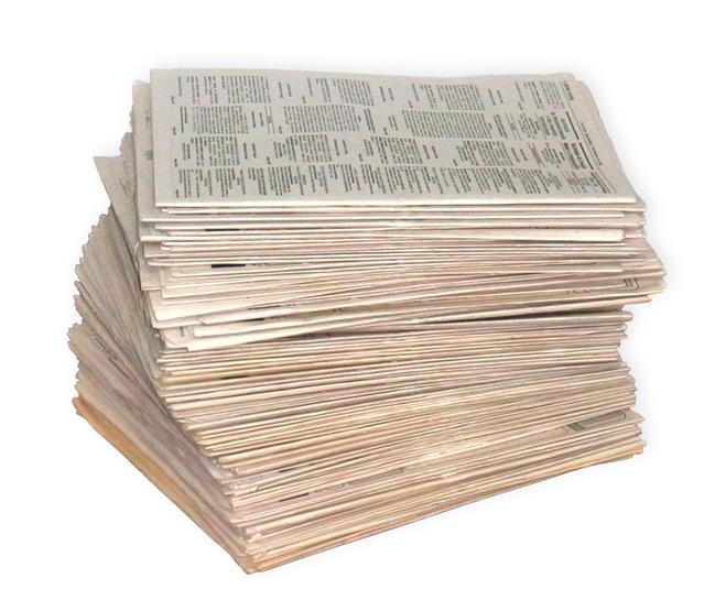 Jornais em lote