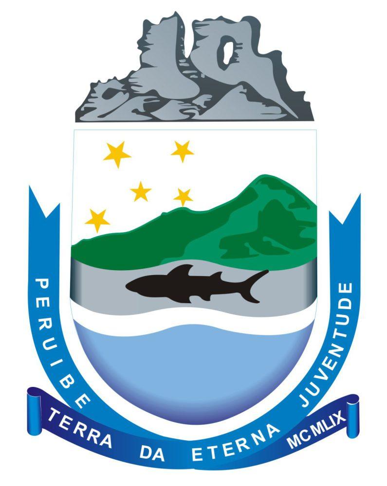 brasão da prefeitura de Peruibe