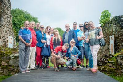 Jornalistas de Turismo se reúnem em Peruíbe e visitam as Ruínas do Abarebebê