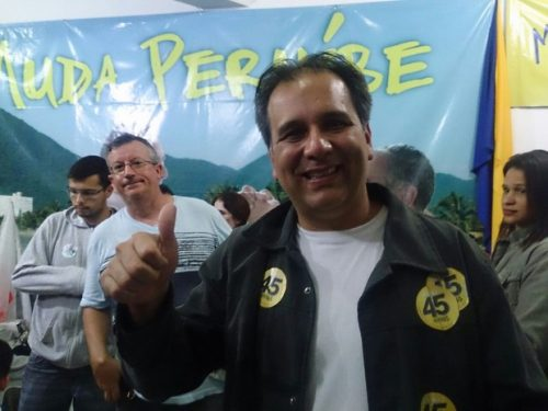 Vídeo: Jornalista da Band pede para prefeito Luiz Maurício cuidar do Parque Turístico