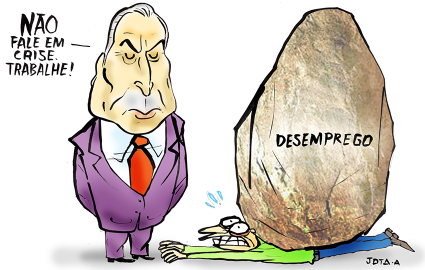 Charge Temer