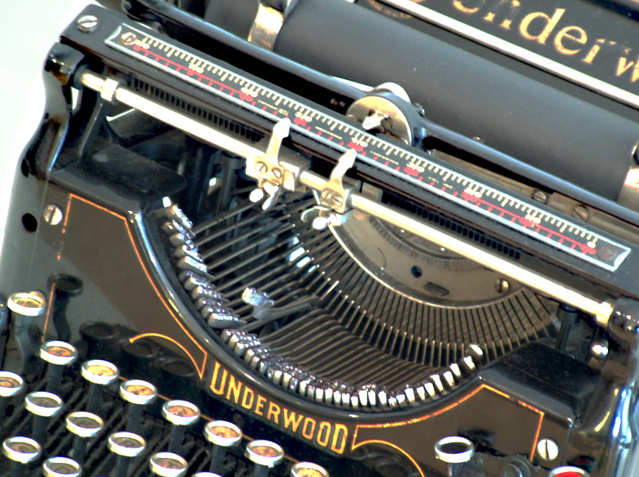 Maquina de escrever underwood