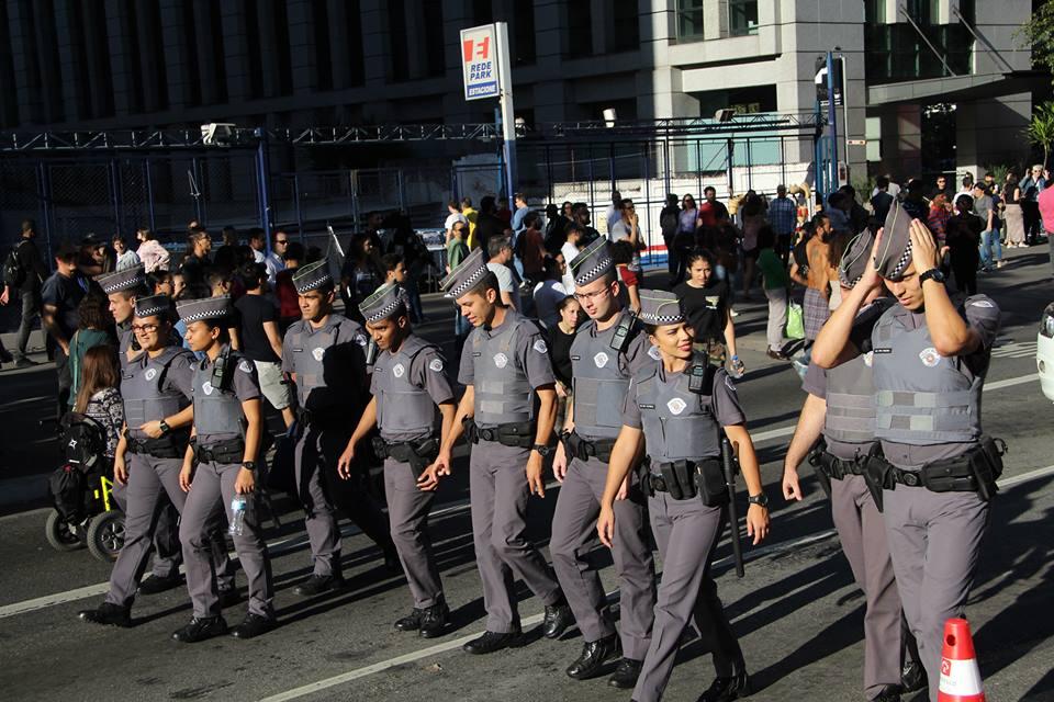 Manifestação Polícia Milita na Avenida Paulista 2
