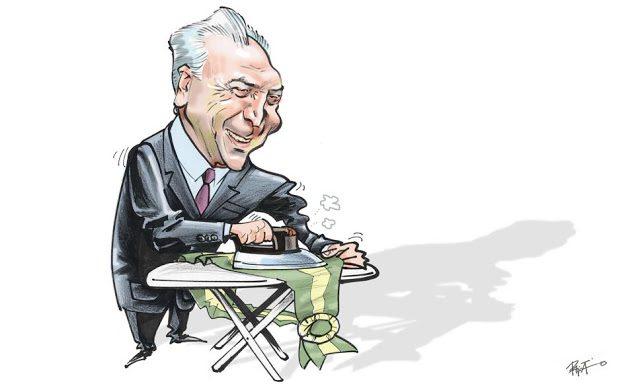 Charge_Presidente_Michel_Temer