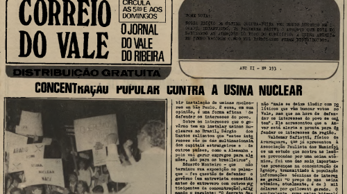 """Artigo Usina parte 2: """"Usina Não!"""" Versão 1980"""