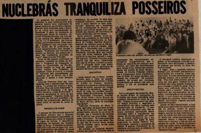 Artigo Usina Penúltima Parte: Usina nuclear: A redenção de Peruíbe?