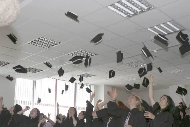 Formatura na graduação