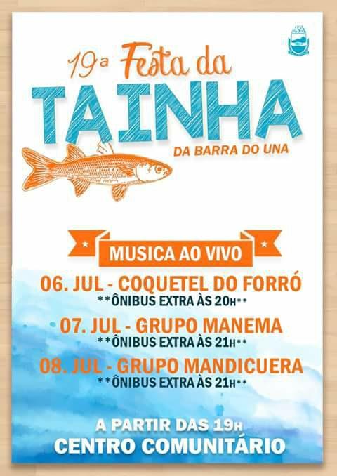 Barra do Una realiza a 19ª Festa da Tainha. Veja os vídeos e saiba como ela é