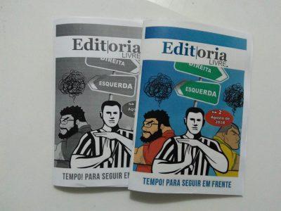 O Garoçá participa da 2ª edição do Fanzine Editoria Livre com um texto sobre Peruíbe