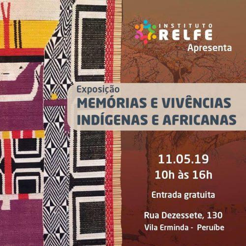 """Neste sábado: Peruíbe recebe a exposição: """"Memórias e vivências indígenas e africanas"""""""