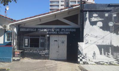 Biblioteca Pública de Peruíbe continua fechada e sem prazo para a reabertura