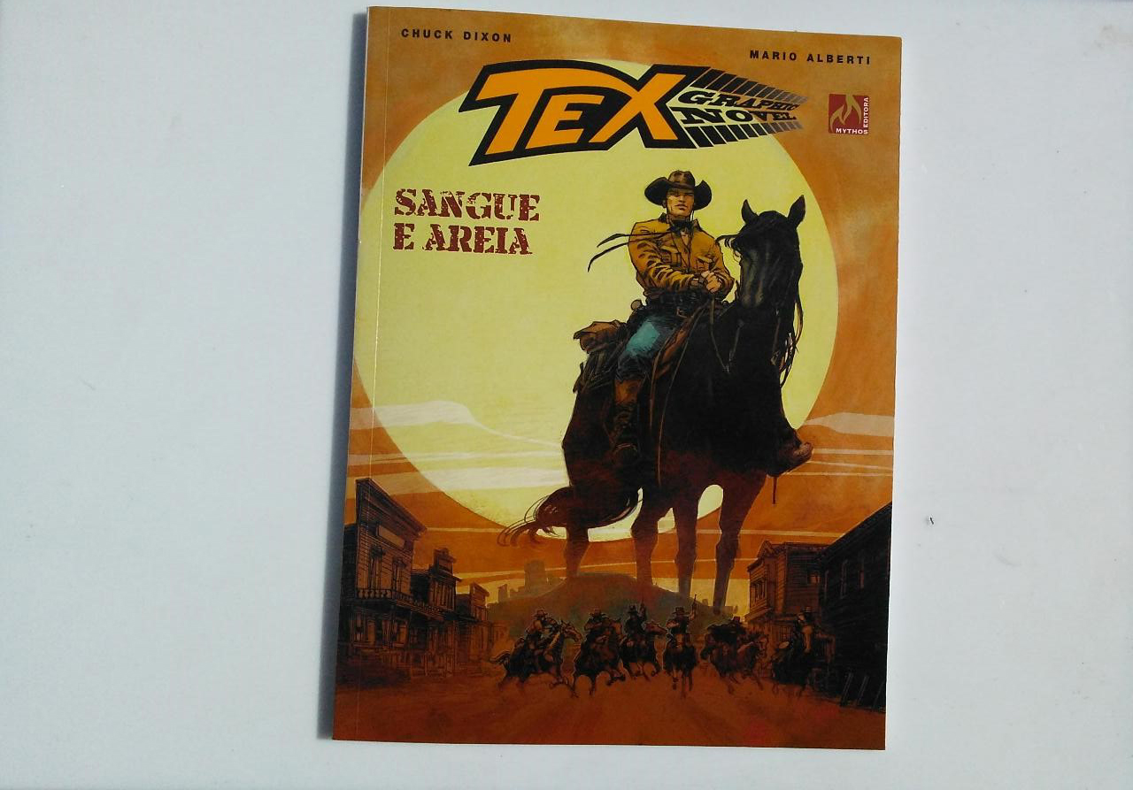 Capa de Sangue e Areia, Tex Graphic Novel 07