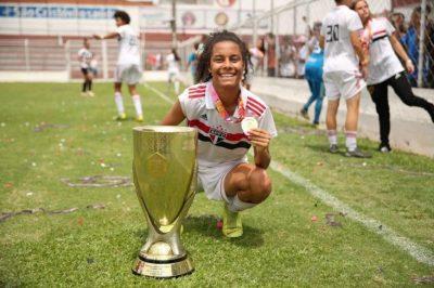 Ex-aluna do Pereira da Rocha vai jogar no profissional do São Paulo F.C