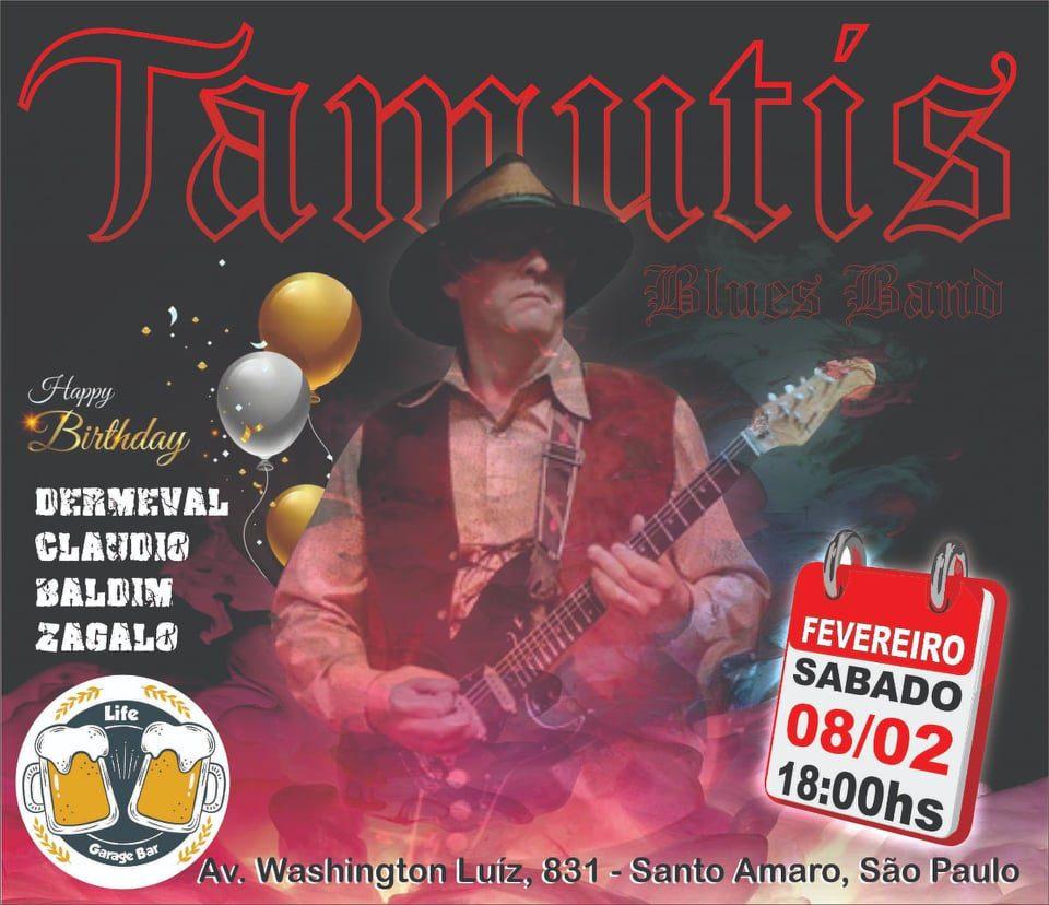 """Músicos de Peruíbe 6: Umberto Tamutis canta """"I like to be crazy"""", em 1996"""