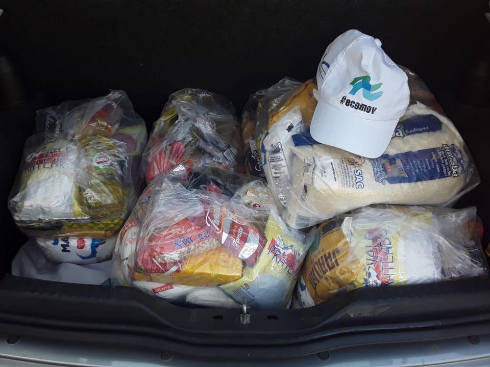 ONG arrecada 1,5 tonelada de alimentos e ultrapassa meta de campanha