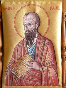 Imagem do apóstolo Paulo