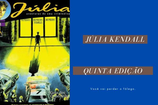 Resenha: Júlia, Aventuras de Uma Criminóloga 05 – Os Reféns