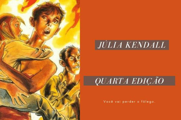 Resenha: Júlia, Aventuras de Uma Criminóloga 04 – Dilúvio de Fogo