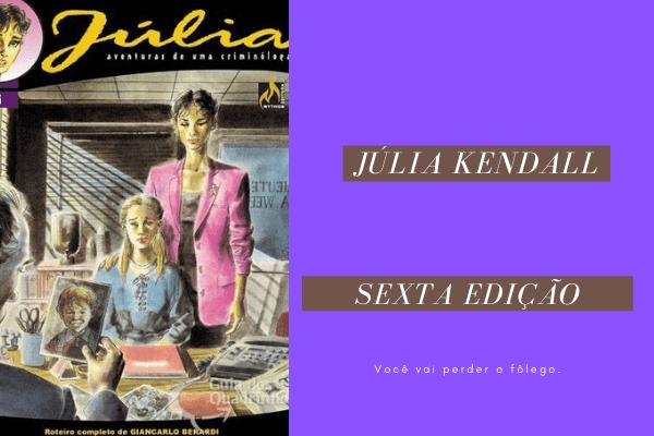 Júlia: As aventuras de uma criminóloga  06 – Jerry Desapareceu