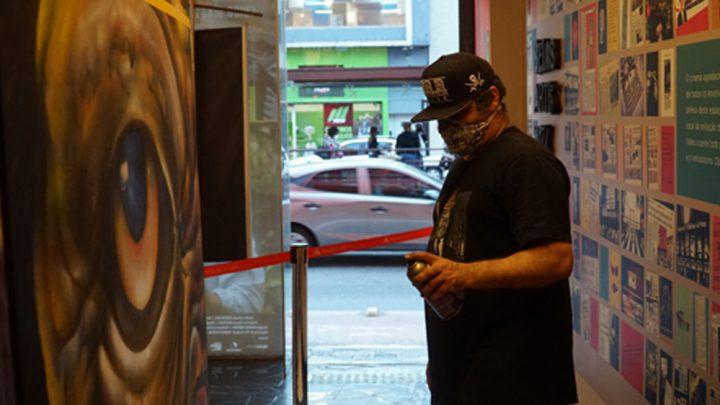 Pré-estreia de documentário sobre graffiti no Cine Belas Artes marca retomada cultural em SP